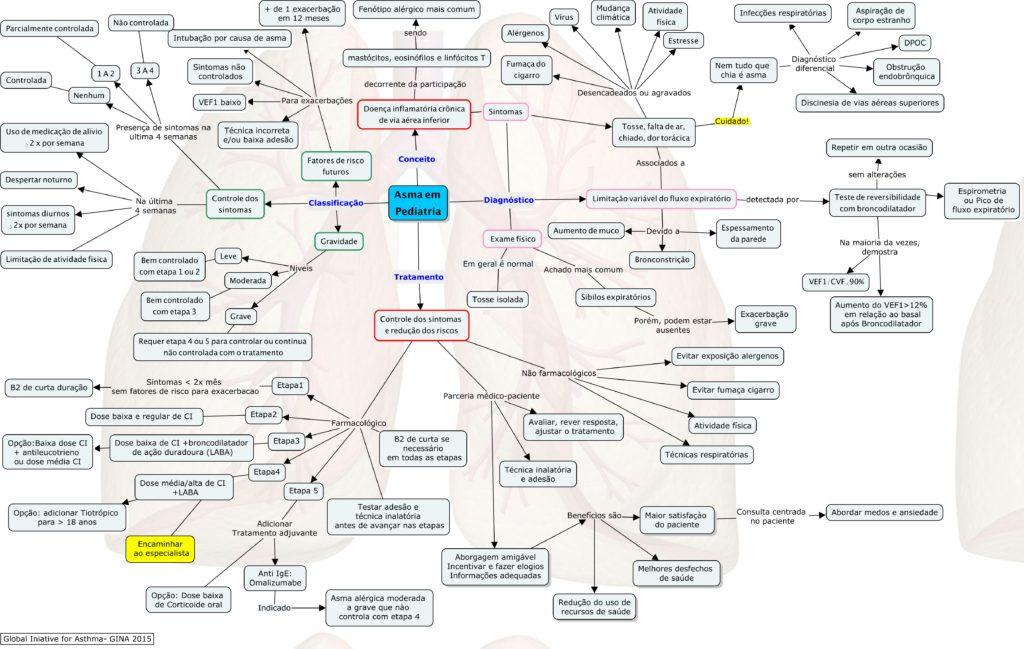mapa conceitual asma