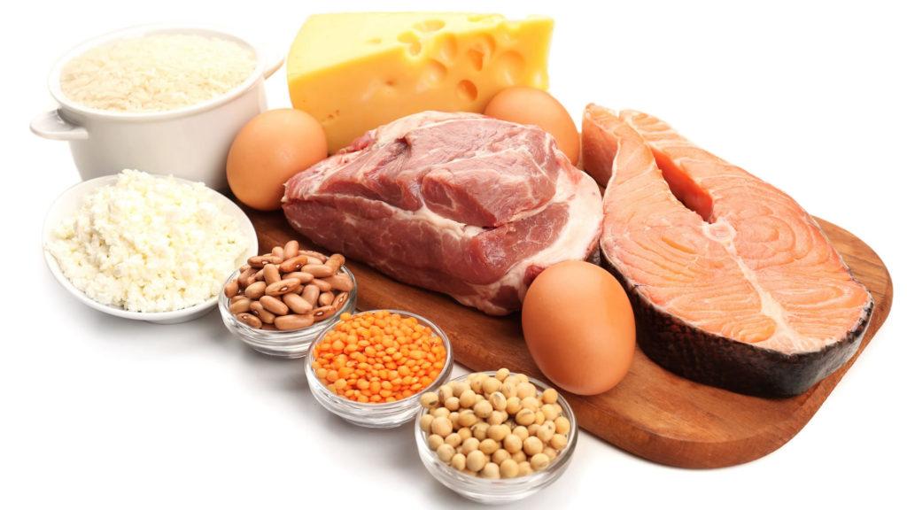 proteínas e esporte